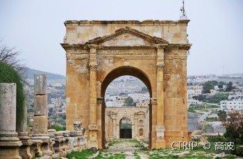 杰拉什罗马古城遗址 景点详情