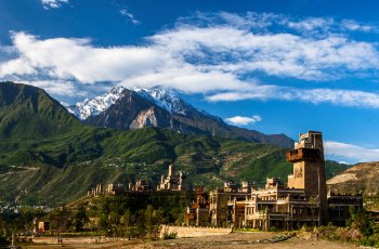 中国古羌城 景点图片