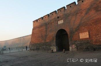 平遥古城墙 景点图片