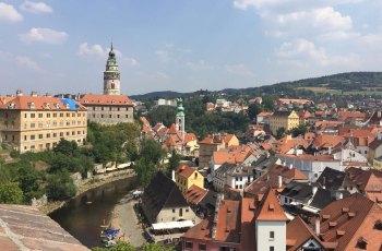 捷克克鲁姆洛夫城堡花园 景点图片