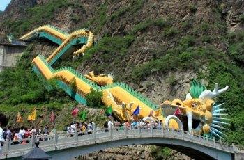 龙庆峡 景点图片