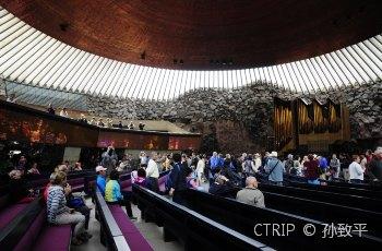 岩石教堂 景点图片