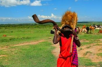 肯尼亚马赛村落 景点图片