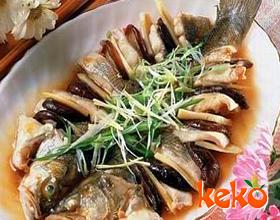 生炊麒麟鱼