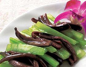 芹菜炒鳝鱼