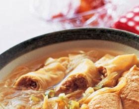 油豆腐粉丝