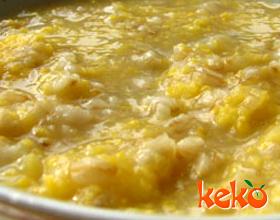 玉米粉燕麦粥