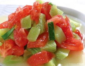 西红柿莴笋