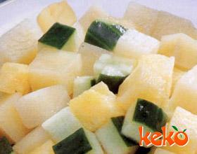 菠萝土豆丁