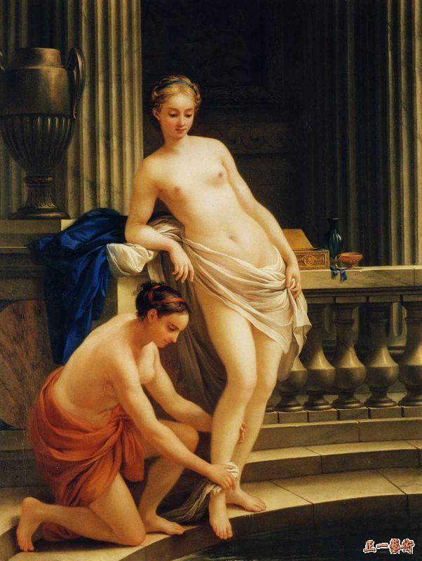 沐浴的希腊贵妇人 维安