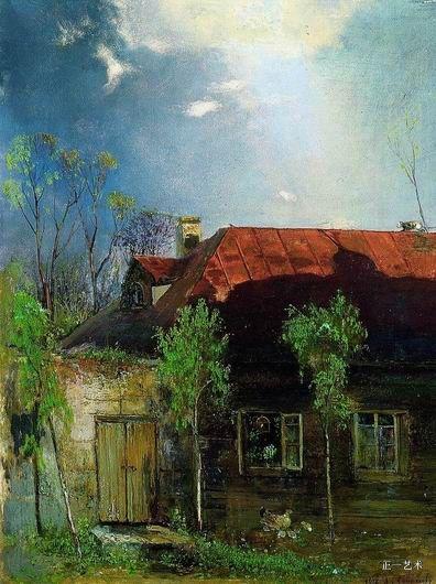 春天的小屋 萨符拉索夫