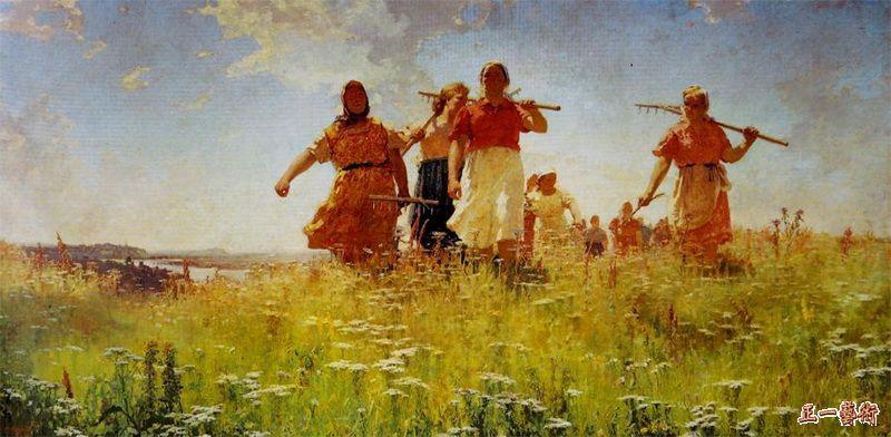 在和平的田野上 梅尔尼科夫