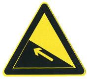 上坡路标志