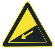 下坡路标志