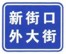 街道名称标志