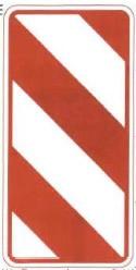右侧通行标志