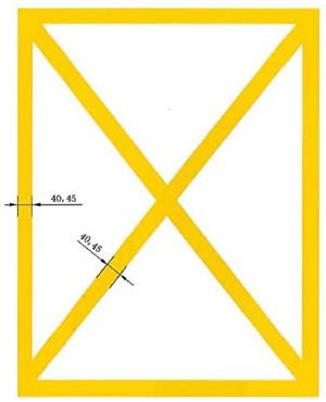 简化网状线