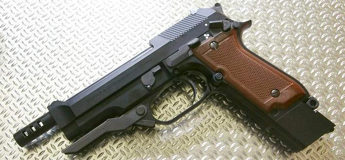 伯莱塔M93R手枪