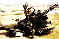85式23毫米双管高射炮